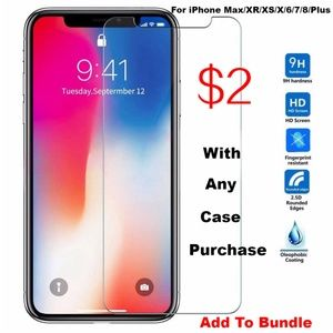 *NEW iPhone 9H Tempered Glass Screen Protector